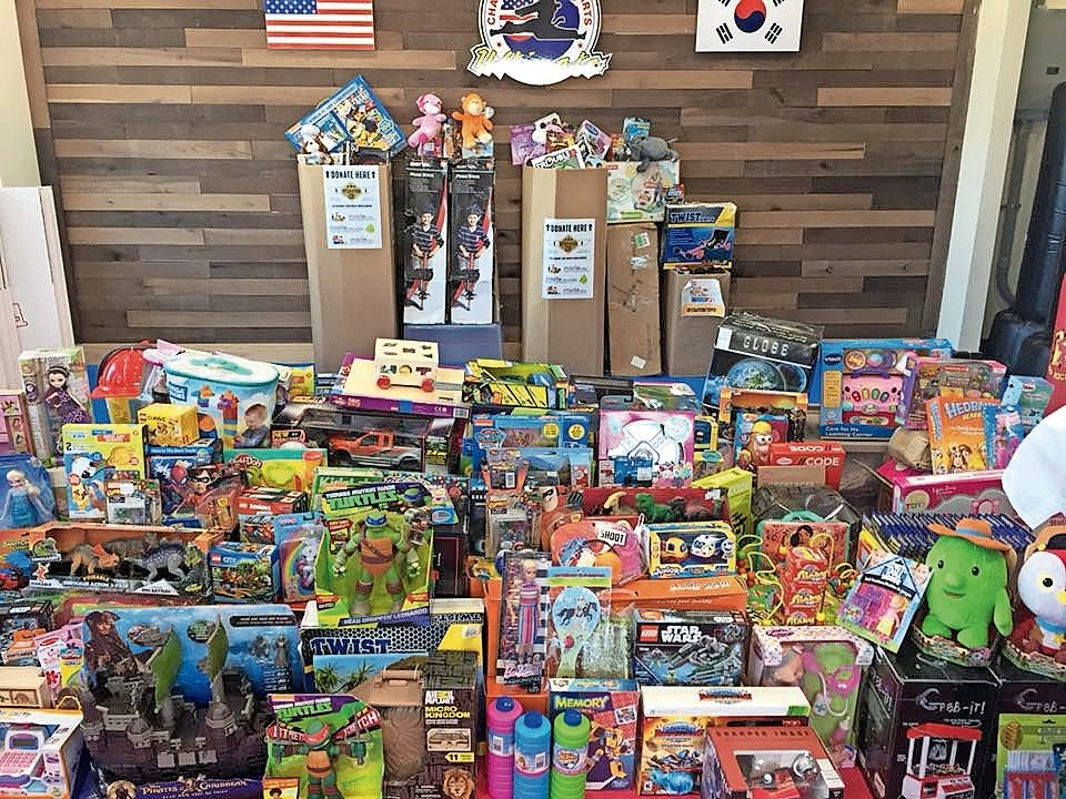Forty Champion Martial Arts locations across Brooklyn, Queens and Long Island collected toys to be donated through the non-profit organization Operation Child Rescue.