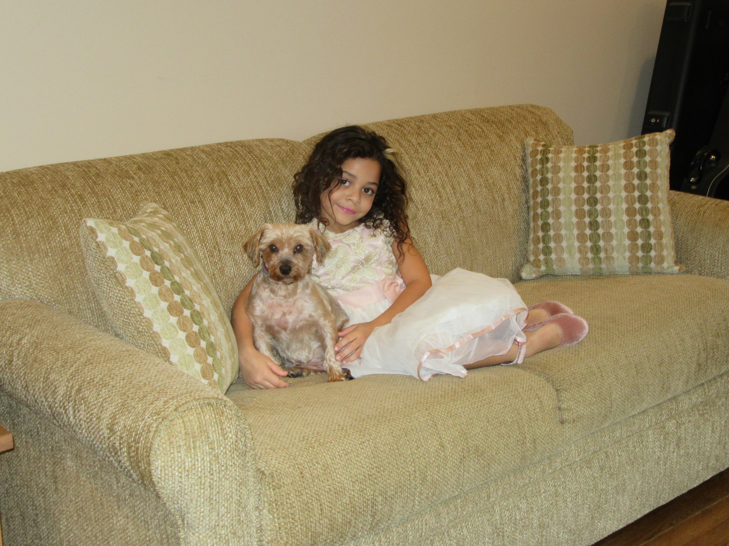 Sondra Toscano said her daughter, Lydia, and her furry best friend Venus are kindred spirits.