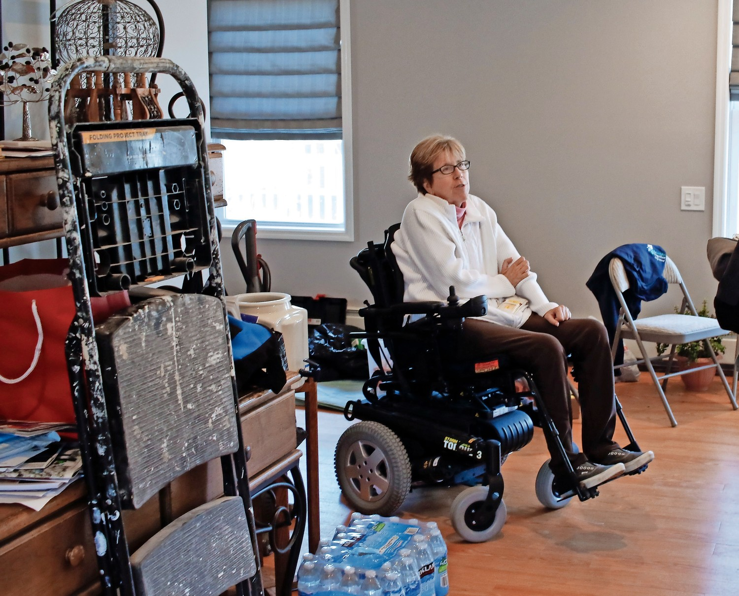 West End resident Liz Treston is known around town as an advocate for people with disabilities as well as those who have struggled with challenges after Hurricane Sandy.