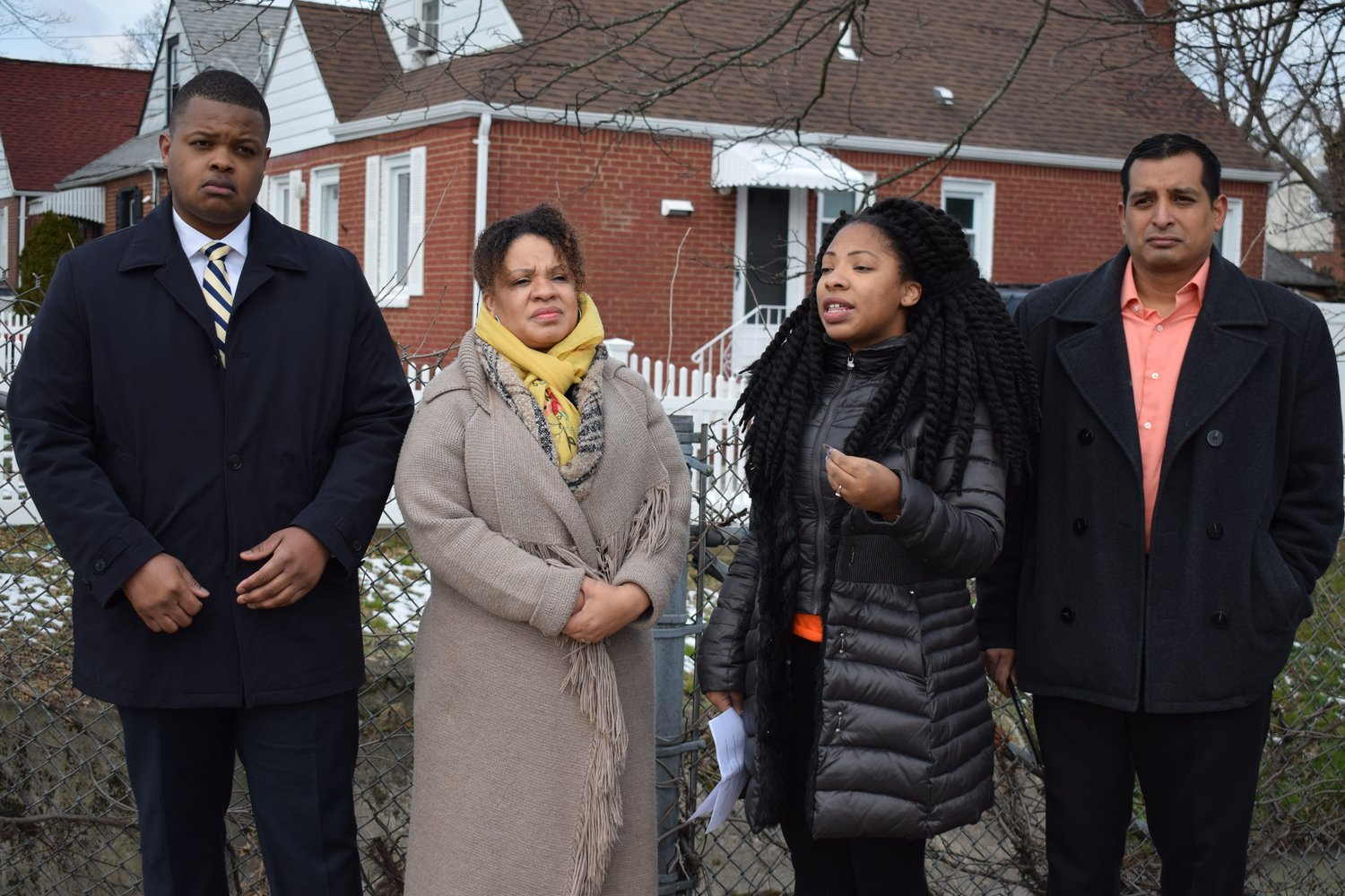 Pierre-Johnson and her daughter, Tamar Paoli, met with then congressional candidate Carl Achille and activist Victor Perez earlier this year to ask Nassau County officials to test Elmont's water supply for carcinogens.