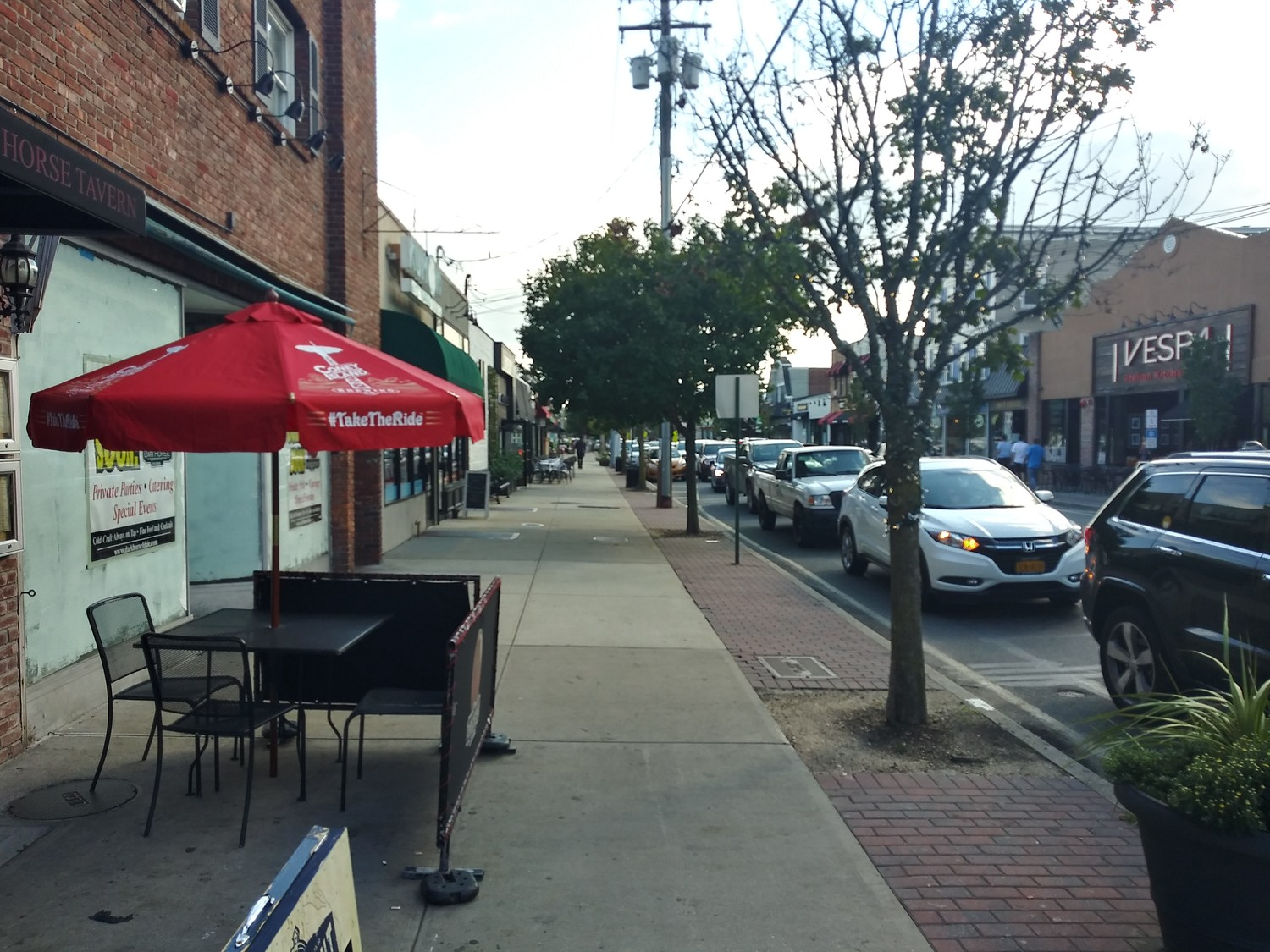 The Village of Farmingdale's Main Street is filled with restaurants, bars and more, though it looked more like Grand Avenue just a few years ago.