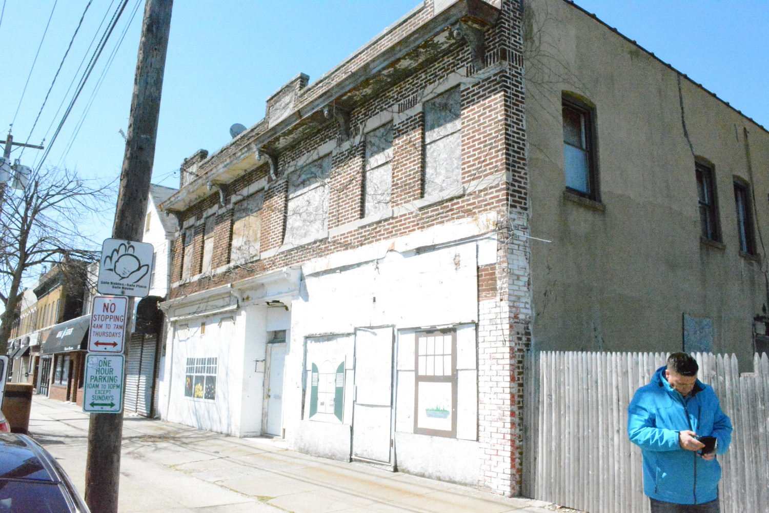 Town of Hempstead officials said they hope to reduce the number of vacant buildings along Grand Avenue through a rezoning effort.