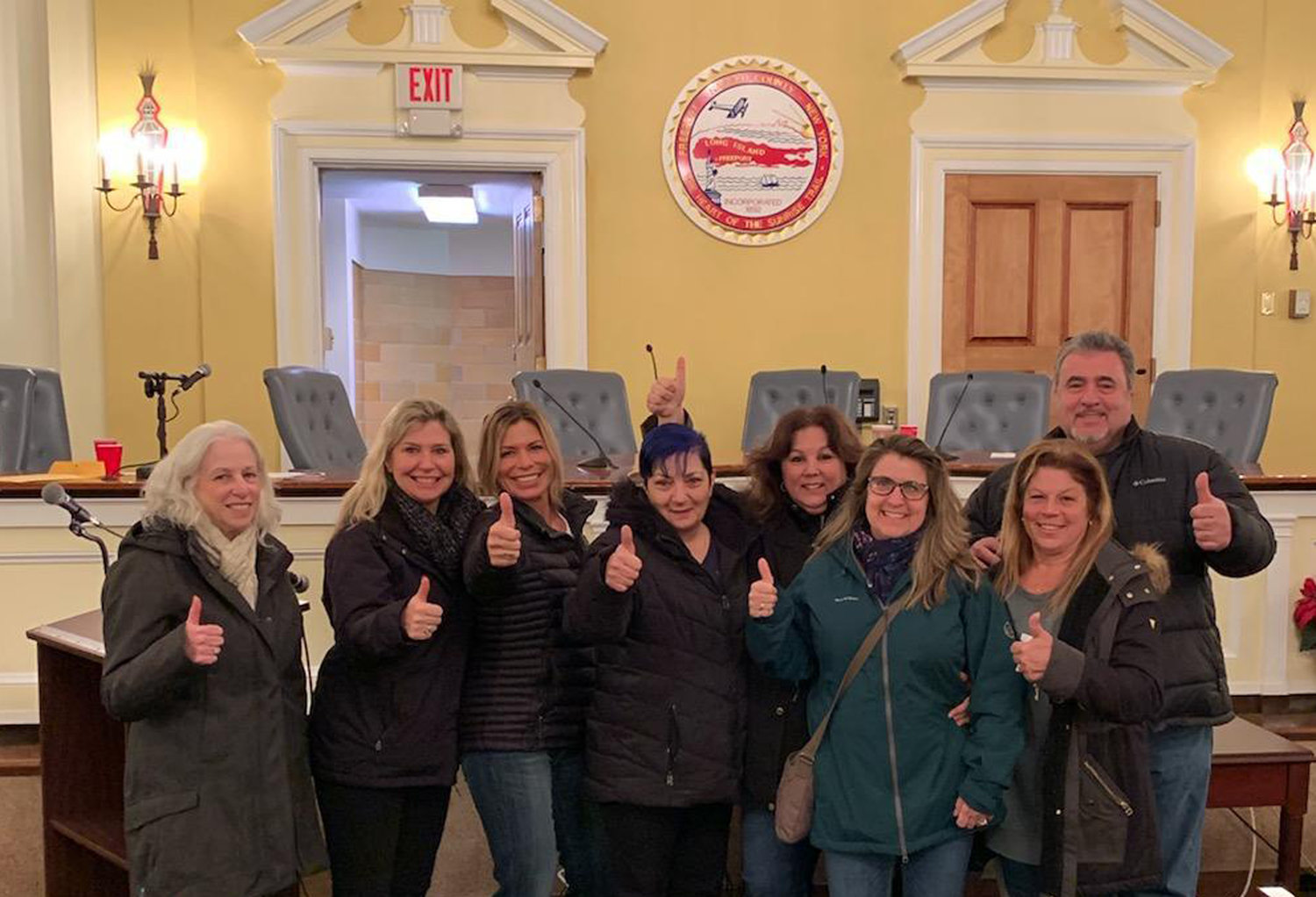 Volunteers of Our Best Friend Rescued attended the Village Hall meeting on Dec. 18 when the Board of Trustees held a public hearing to adopt updates to the village pet codes that the organization had pushed to be changed in early December.
