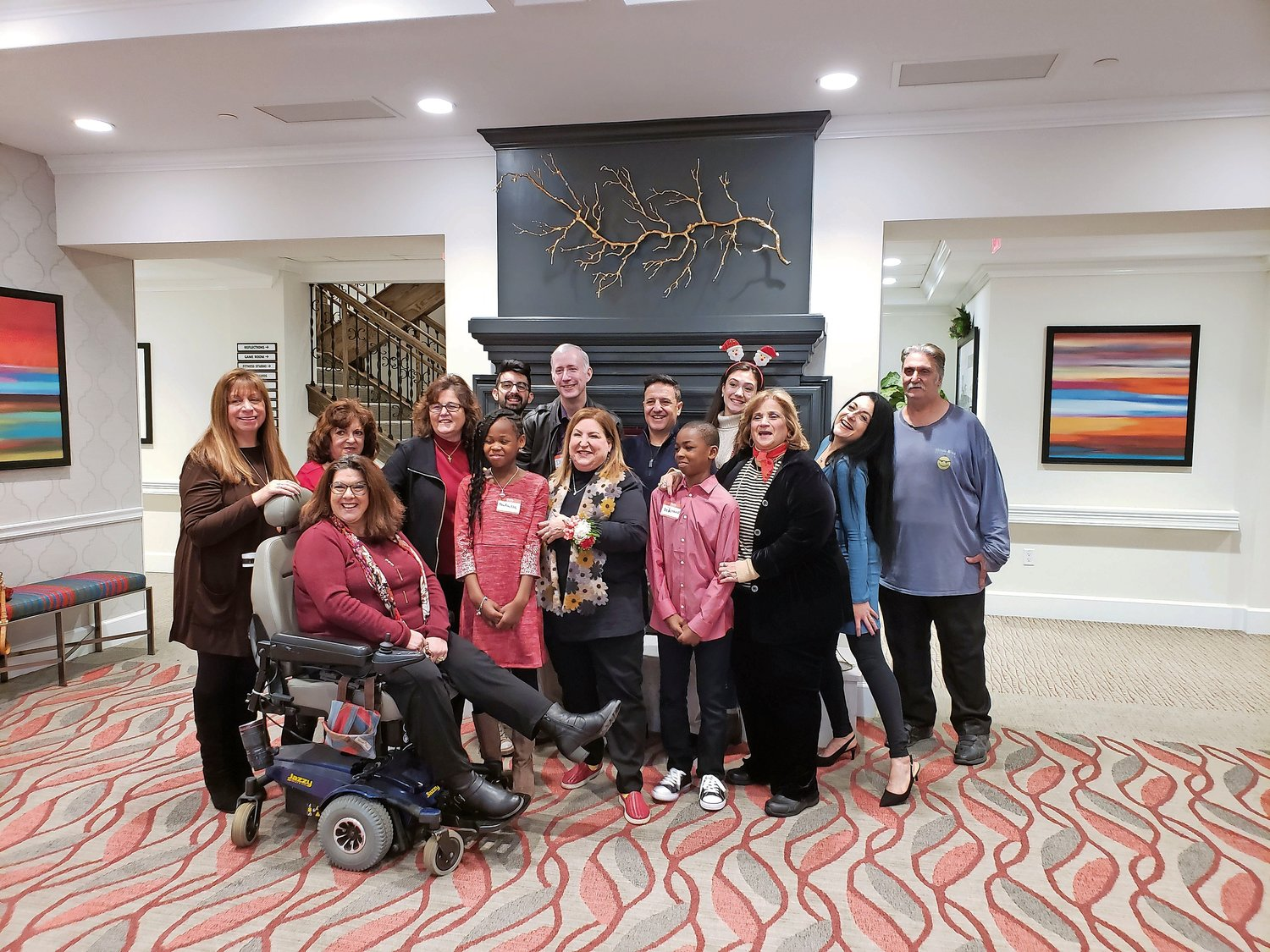 Former Snapple spokeswoman Wendy Kaufman met with the Long Island Breakfast Club at the Bristal Assisted Living in Garden City on Dec. 15.