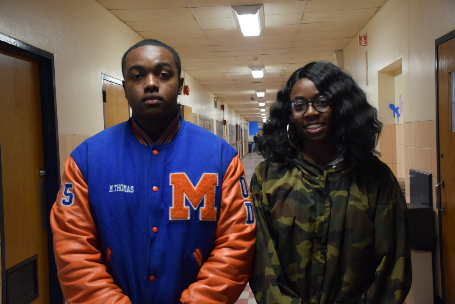 Malverne High School's Malachi Thomas and Oluwaseun Ajirotutu performed in chorus at the 2018 NYSSMA All-State Chorus from Nov. 29-Dec. 2.