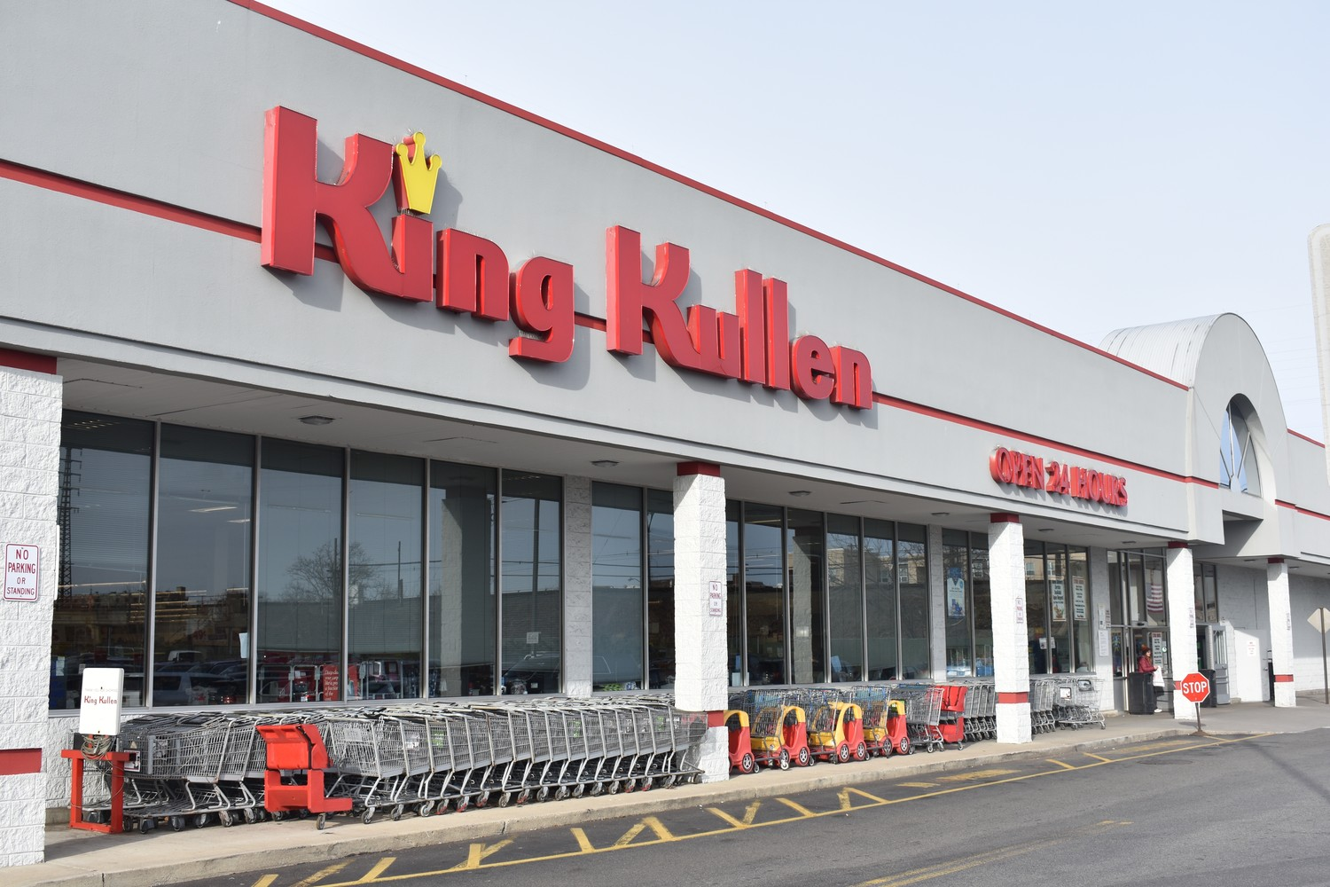 Stop & Shop announced on Jan. 4 that it would purchase King Kullen's supermarket assets, including this store at 127 Sunrise Highway in Rockville Centre.