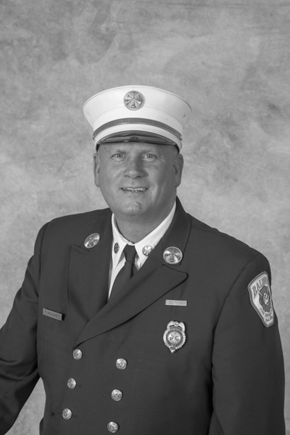 Second Deputy Chief Timothy Hughes