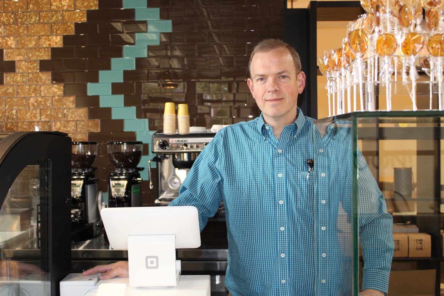 Terrence Kenniff, of Glen Head, is the candy-crazed connoisseur behind the area's first boutique chocolate and coffee shop.