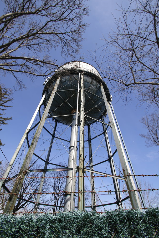 The Glen Head water tower.