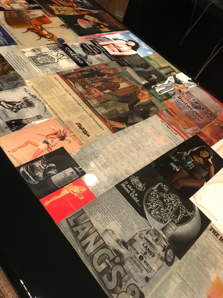American Beauty Bistro's theme of American art will carry over to Effin Beauty. The bar top will be lined with old drink advertisements and pin-up girls.