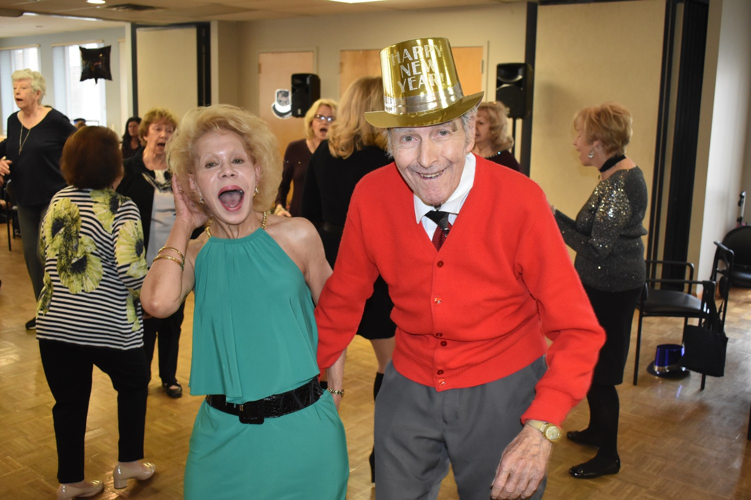 Sara Boegel and John Boles showed off their moves on the dance floor.