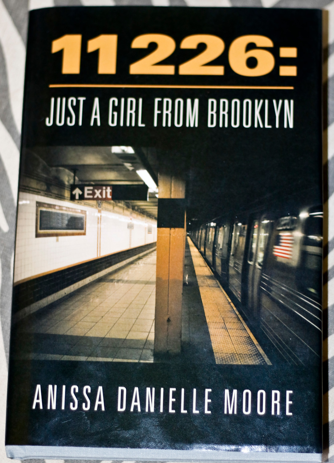 After writing for about 10 years — usually while riding the New York City subway — Moore decided to collect her poems and compile them into a book.