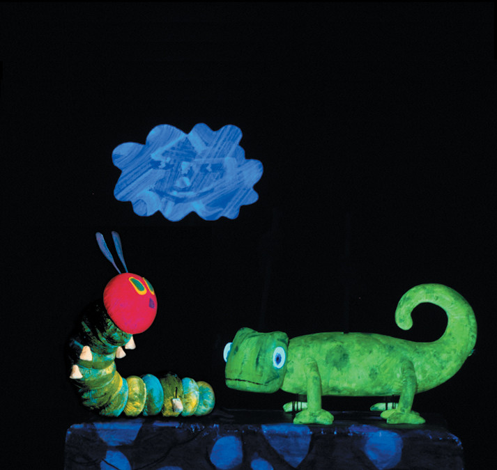 "Families can enjoy a triple bill of Eric Carle stories when ""The Very Hungry Caterpillar and Other Eric Carle Favorites"" visits Tilles Center on Jan. 12."
