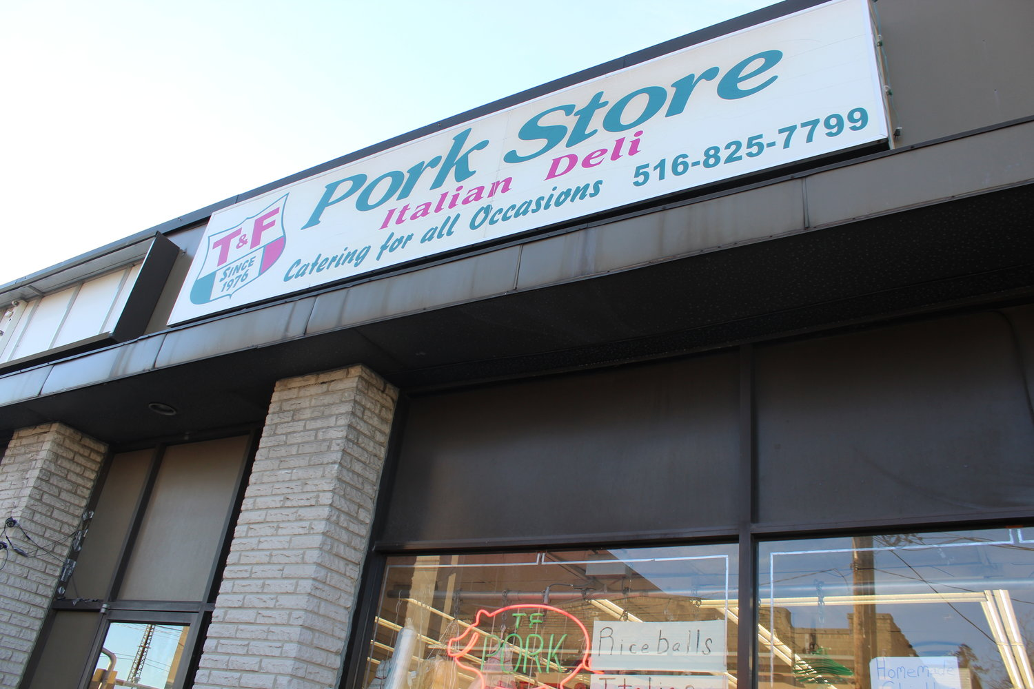 T&F Pork Store was once the only local place Valley Streamers could get authentic Italian groceries.