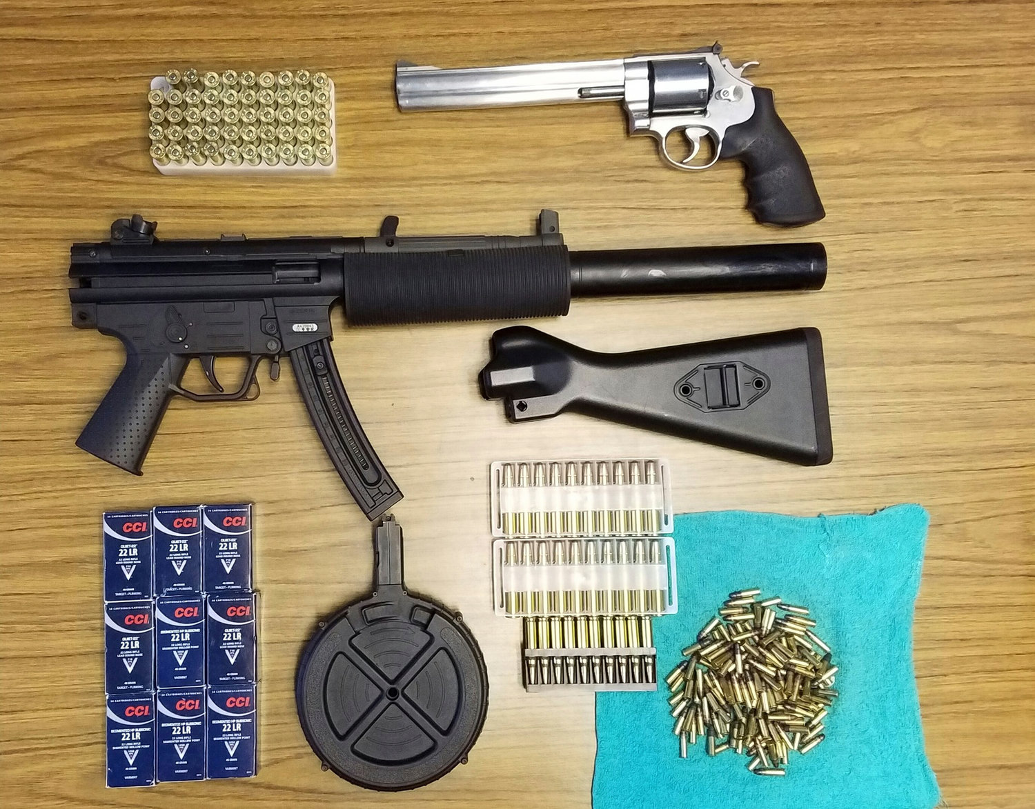 State law enforcement officials said they recovered seven weapons, some of which were illegally sold in Valley Stream, during an investigation of a gun trafficking ring.