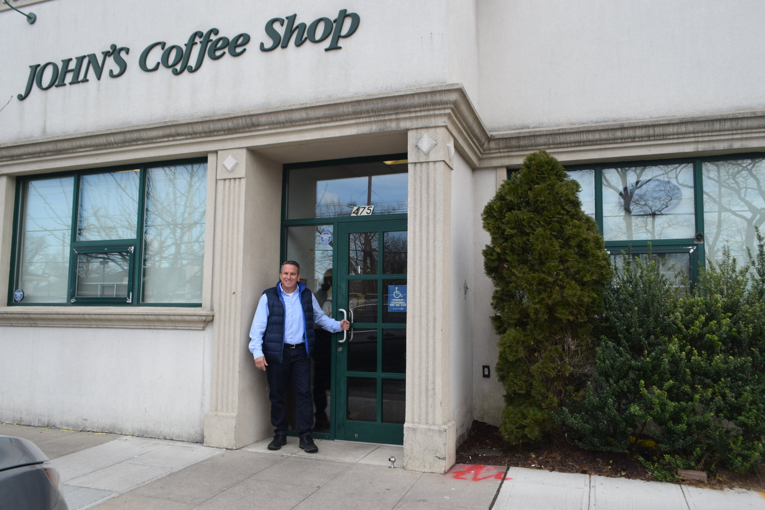 Mark Friedman closed the door on John's Coffee Shop after nearly 13 years.