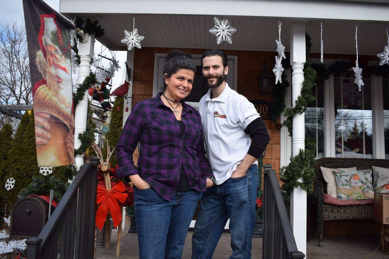 Gina and Vincent Centauro run the Rescuing Families Inc. home-remodeling nonprofit out of their own home in Franklin Square.