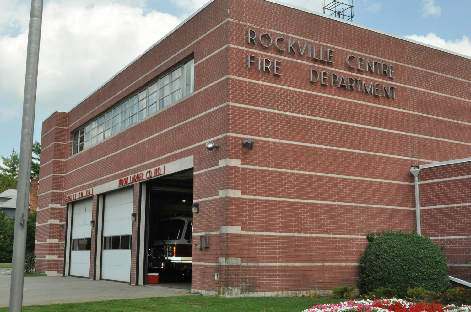 The firehouse at 103 Maple Ave. is one of two that require extensive upgrades, according to Rockville Centre Fire Chief Brian Cook.