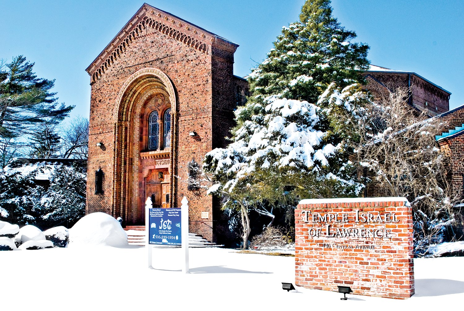 Temple Israel of Lawrence hosts a Holocaust remembrance and Rev. Dr. Martin Luther King Jr. commemoration event on Jan. 28.