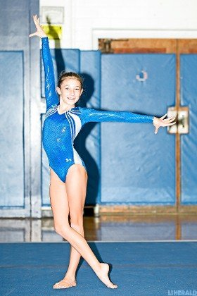 Eighth-grader Alyssa Haberlack has stepped up to become Long Beach's second-leading scorer in the All-Around.