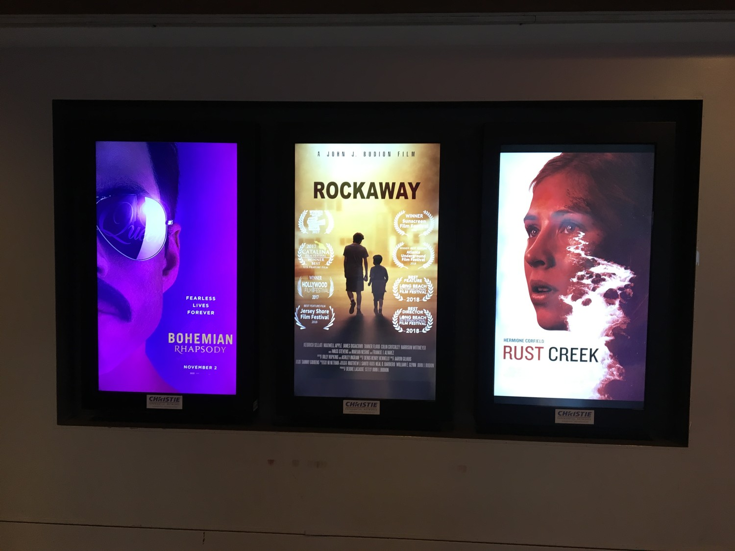 "In New York City, ""Rockaway"" was screened in theaters alongside the likes of ""Bohemian Rhapsody,"" which is a nominee for Best Picture at the Academy Awards."