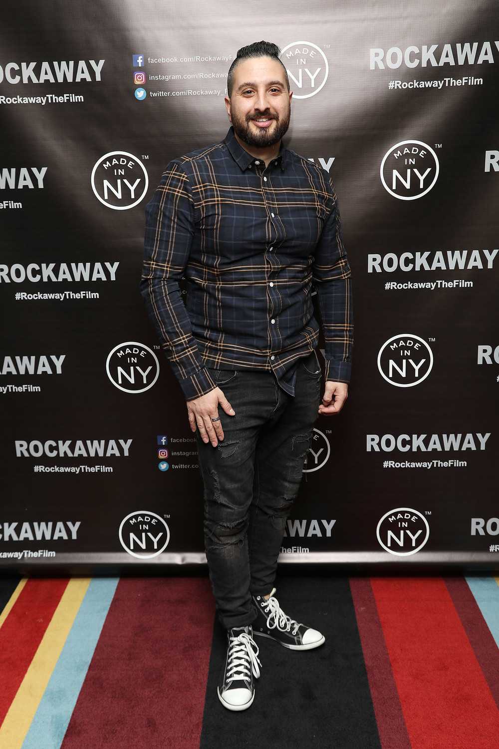 "Budion said the four-and-a-half year process of going from writing ""Rockaway"" to seeing it streaming in more than 150 countries has been an adventure."