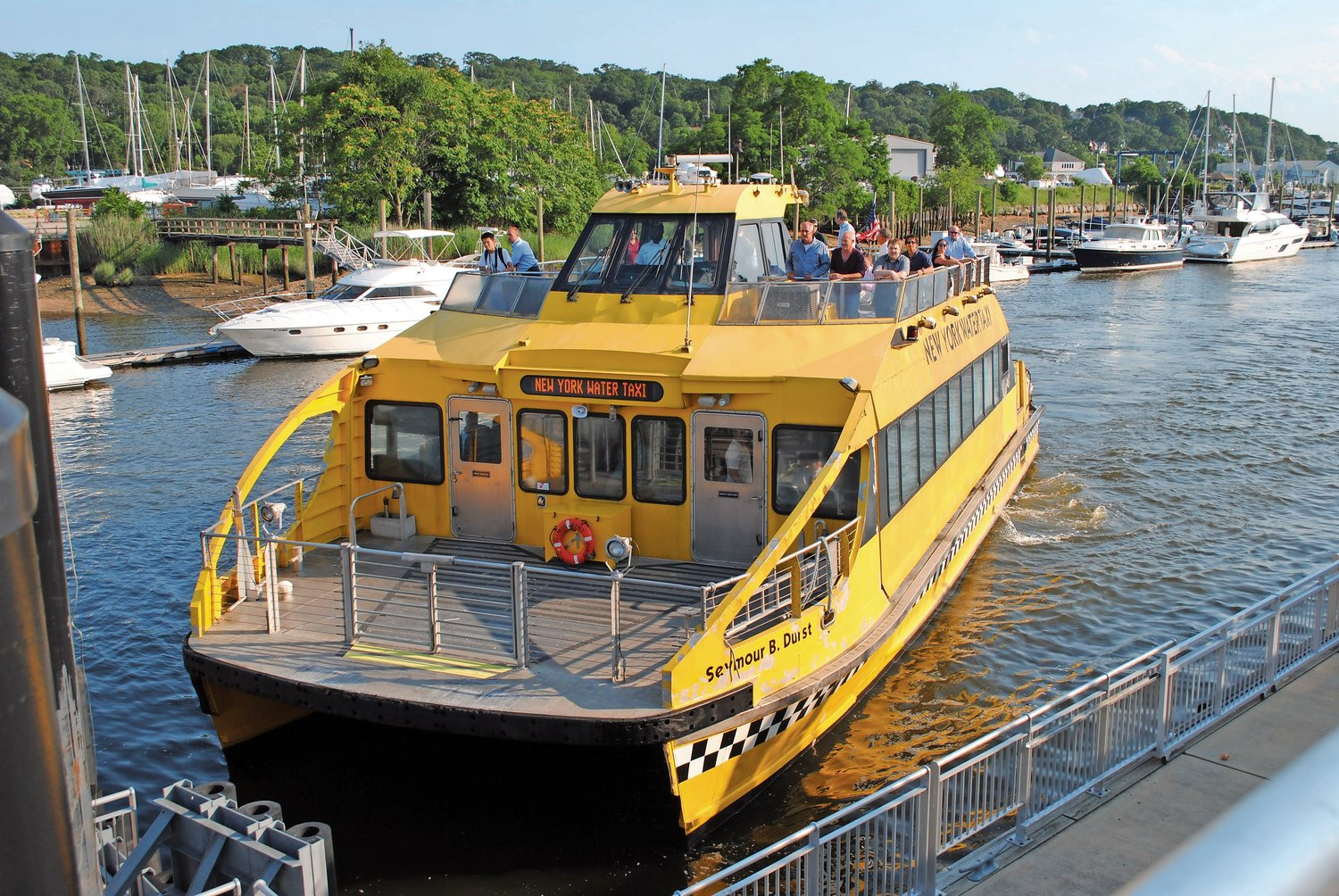The deadline for the City of Glen Cove to have a fully operational ferry terminal has been pushed back to May 22, 2020.