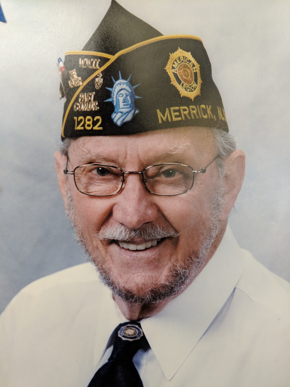 Vincent Gabriele served as commander of American Legion Post 1282 in Merrick, and was instrumental in helping its membership grow.