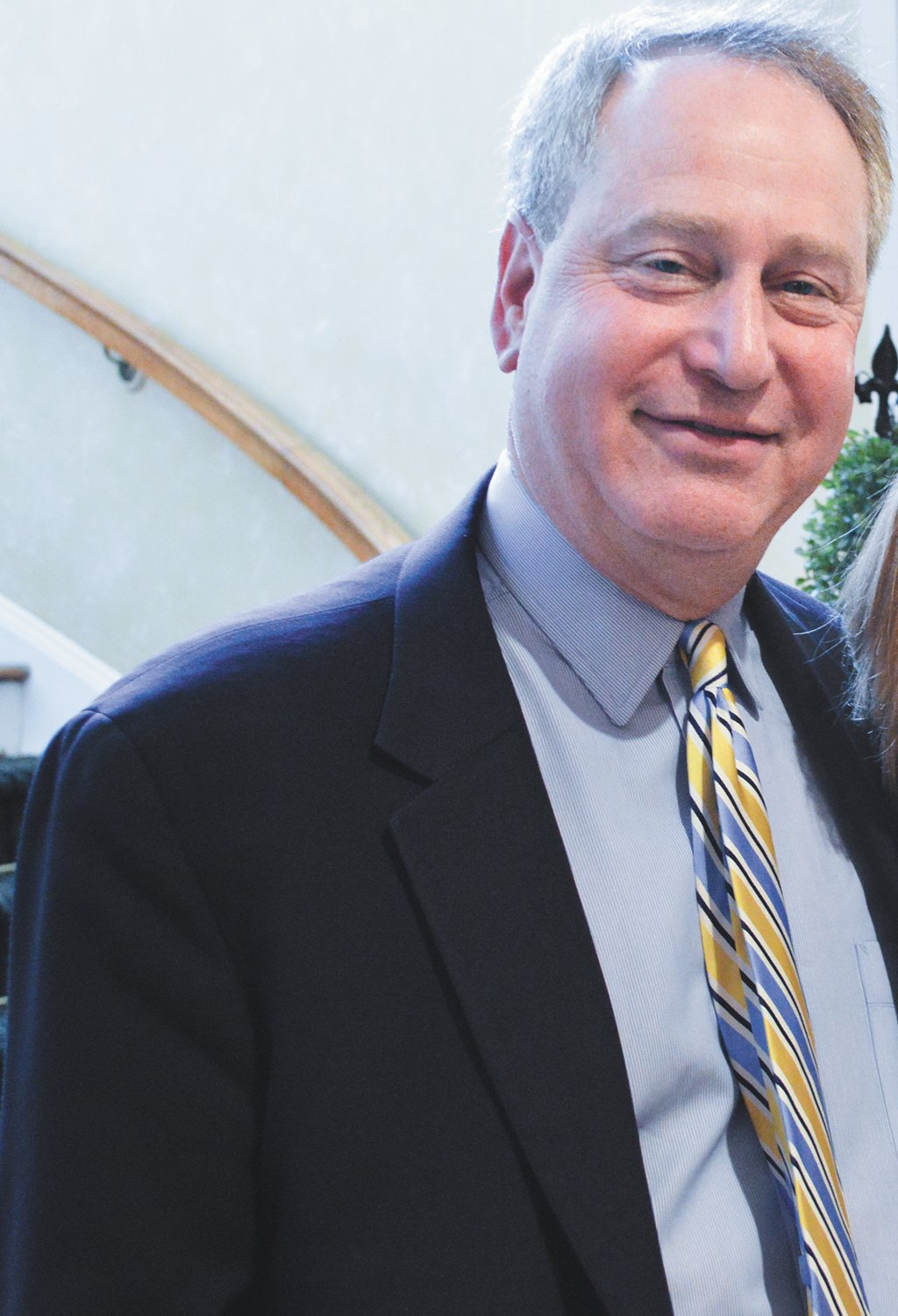 "Alan Bernstein, left, is no longer headmaster at Lawrence Woodmere Academy, after a former student's account of an ""inappropriate relationship"" with a former teacher appeared in the New York Post."