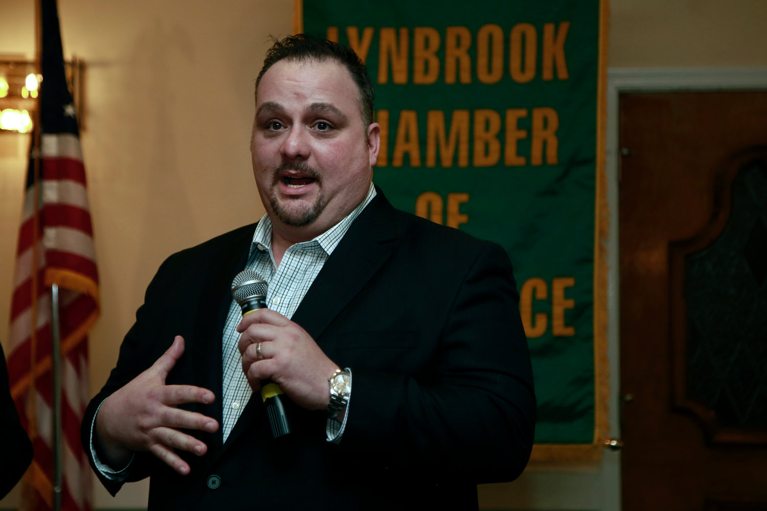 Bryan Lanzello of Lanzello Roofing & Remodeling was also honored at the event.