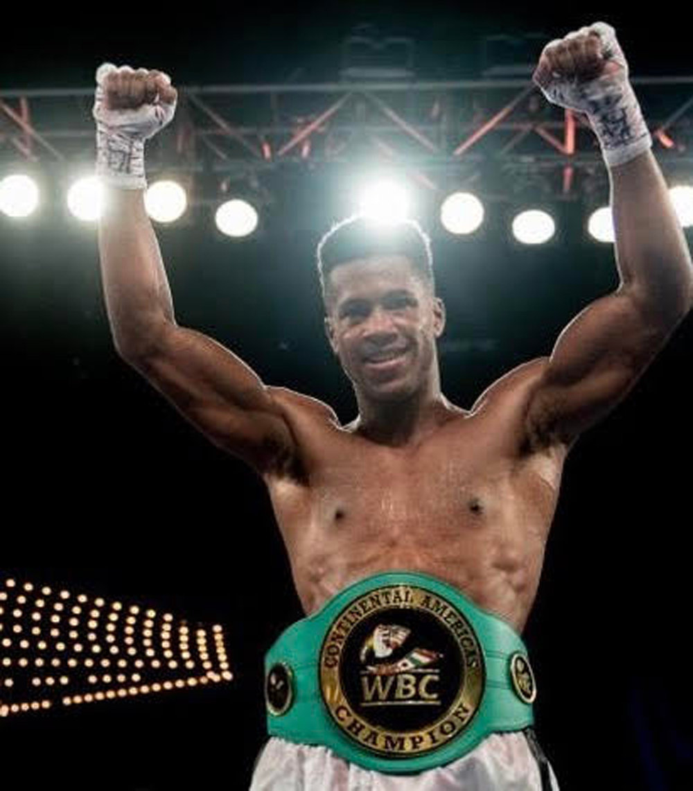 Freeporter Patrick Day, 26, is the World Boxing Council Continental Americas super-welterweight champion. On Feb. 2 he will face Russian Ismail Iliev for the International Boxing  Federation Continental junior middleweight title in Frisco, Texas.