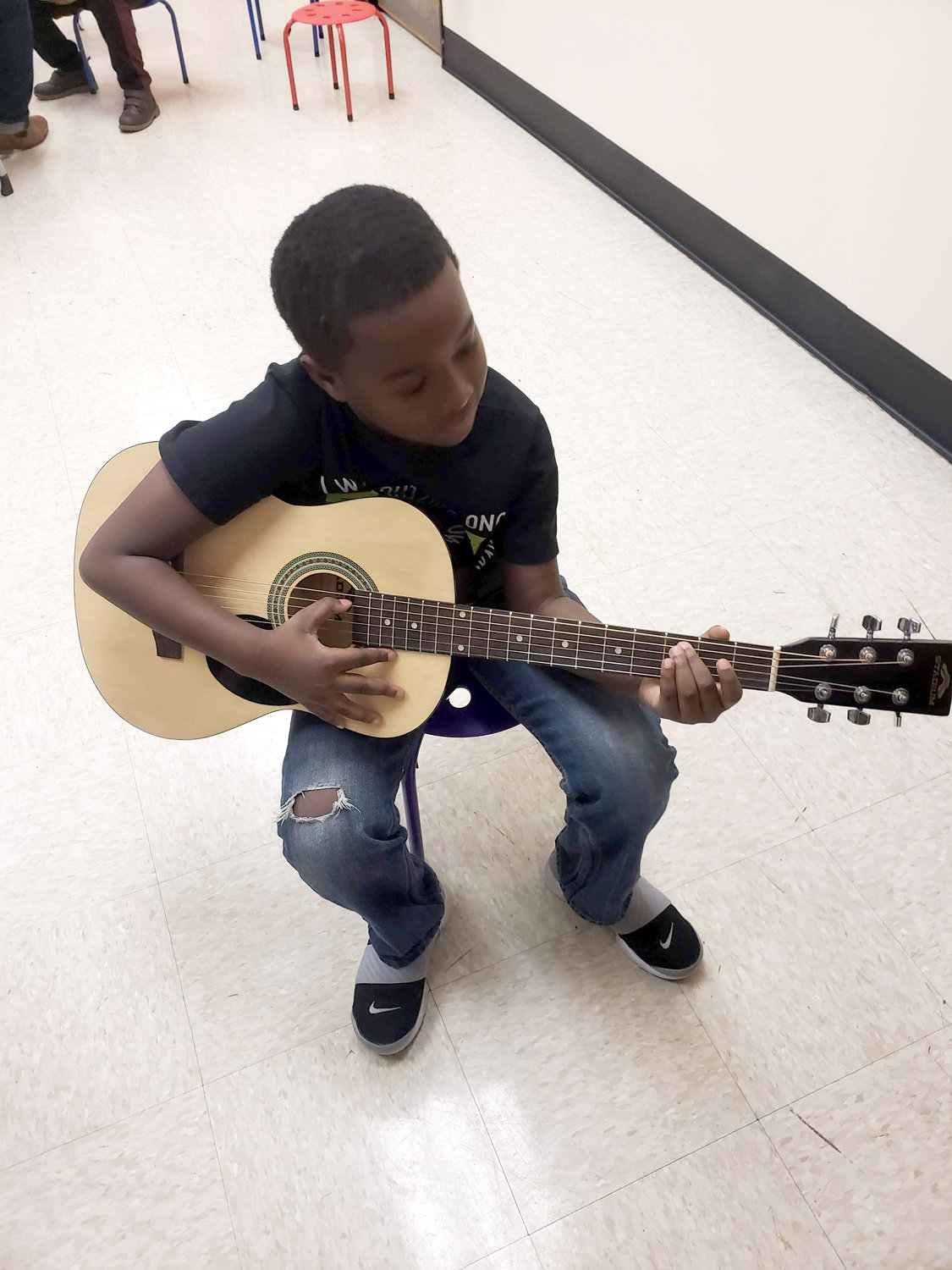 Nine-year-old Mikus Dawson, 