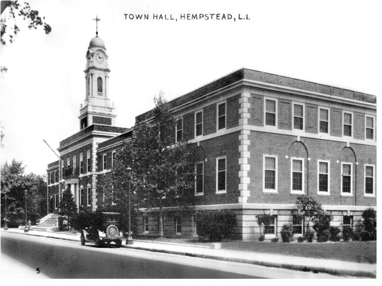 The Town Hall building — which remains in its original location — went through multiple extensions over the decades.