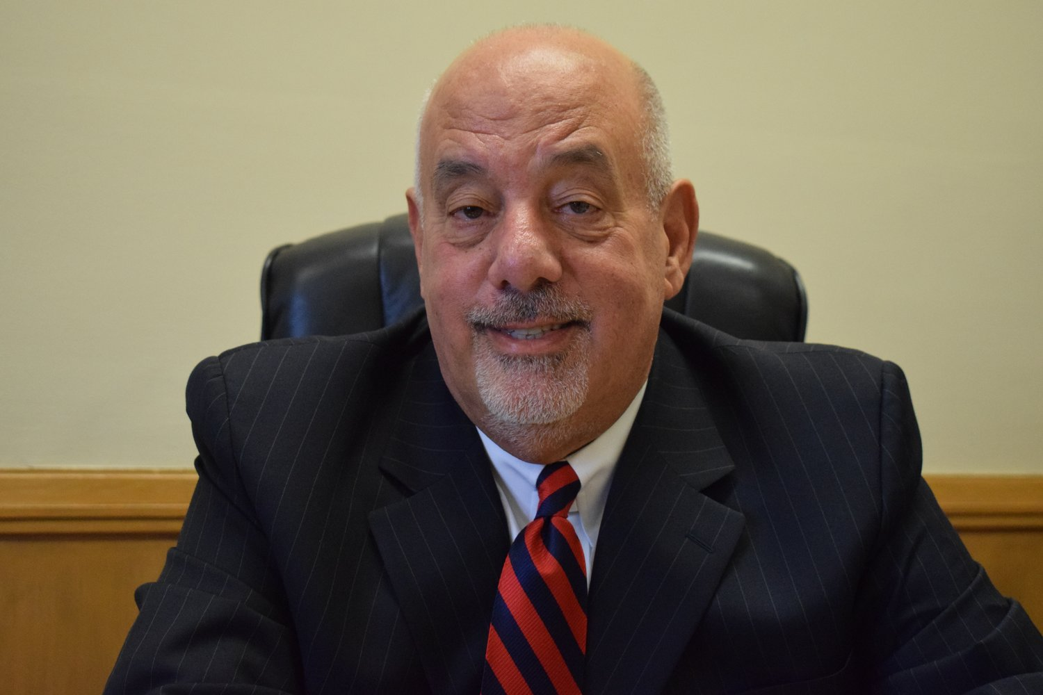 Franklin Square School District Interim-Superintendent Rainer Melucci joined the district in December.