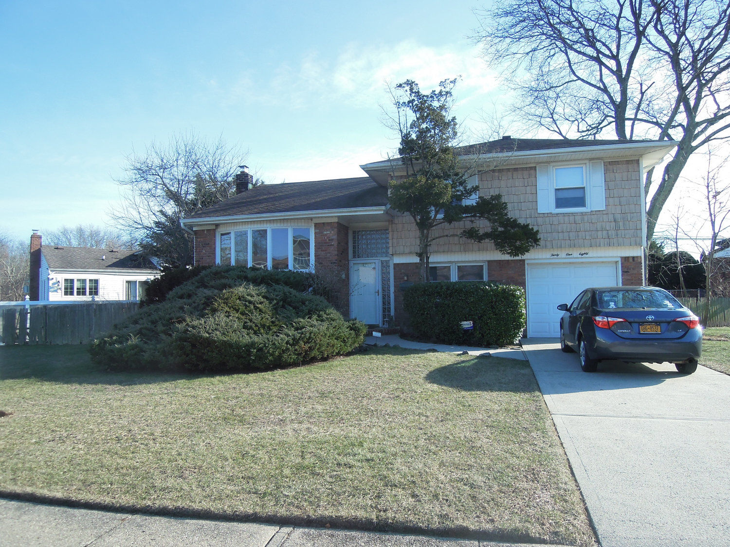 A three-bedroom, two-bathroom house on Birch Drive in Wantagh listing for $529,999.