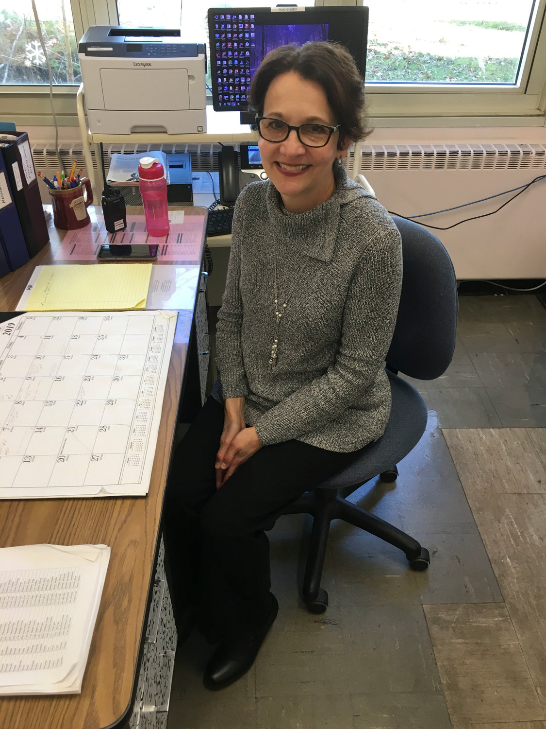 Victoria Alssid, the school nurse at Forest Lake Elementary School in Wantagh, began her career at Nationwide Children's Hospital in Columbus, Ohio, in 1979.
