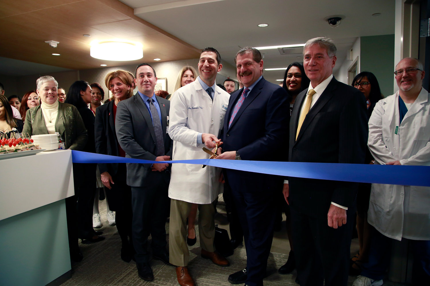 Administrators at Long Island Jewish Valley Stream hospital unveiled the facility's new $13.5 million Orthopedic Unit at a ribbon cutting ceremony on Feb. 1.