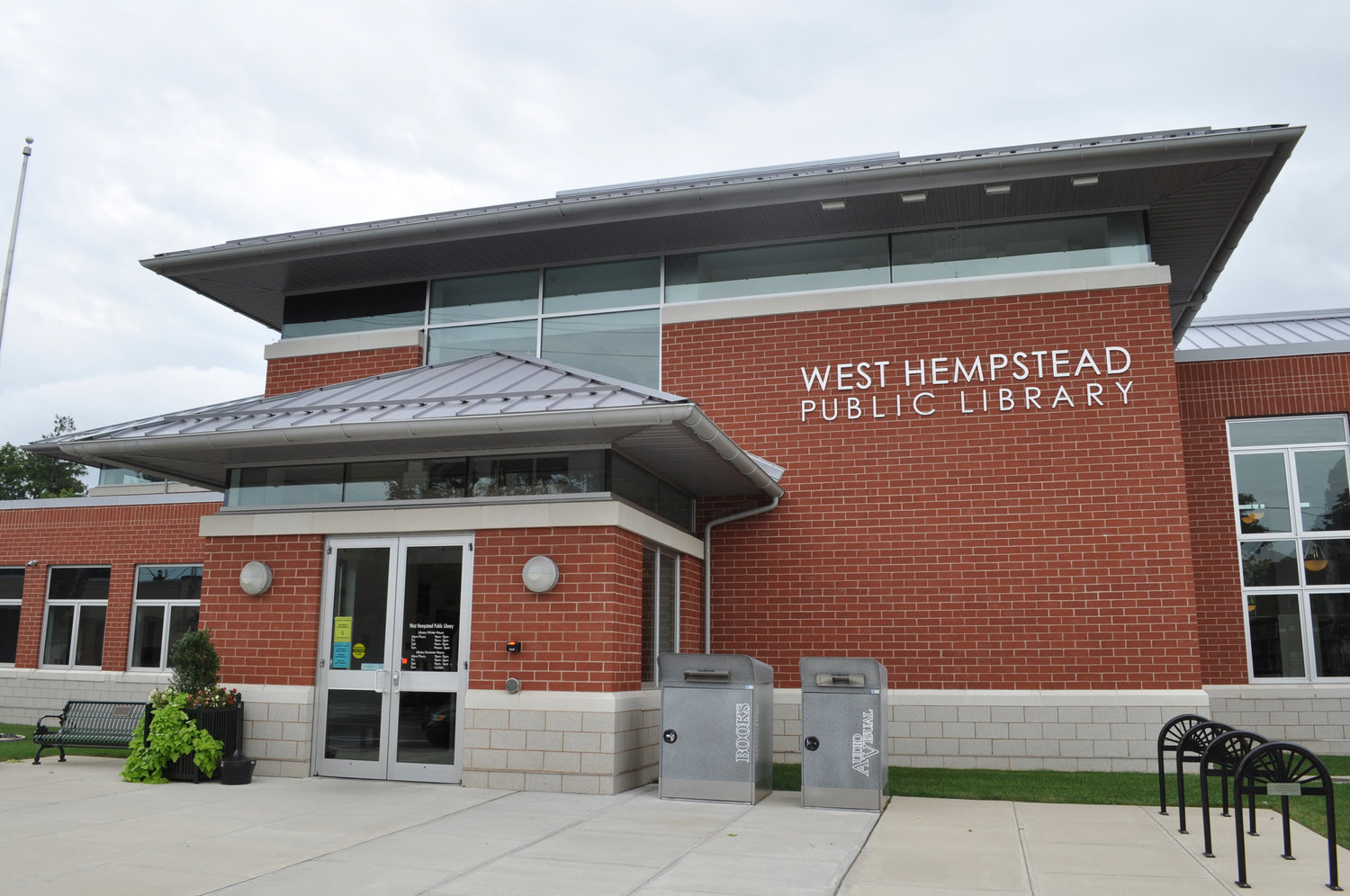 The West Hempstead Library is located at 500 Hempstead Ave., West Hempstead, N.Y. 11552.