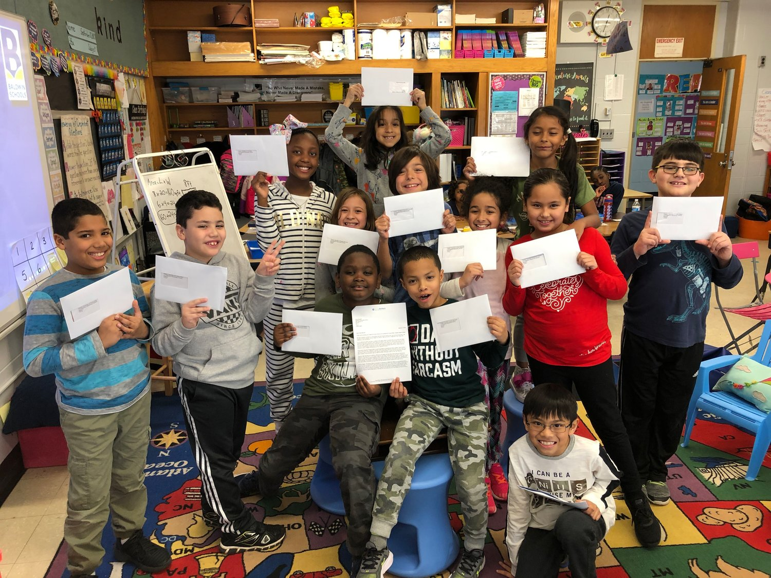 Thirteen Meadow Elementary School students will have their writing preserved in the Library of Congress.