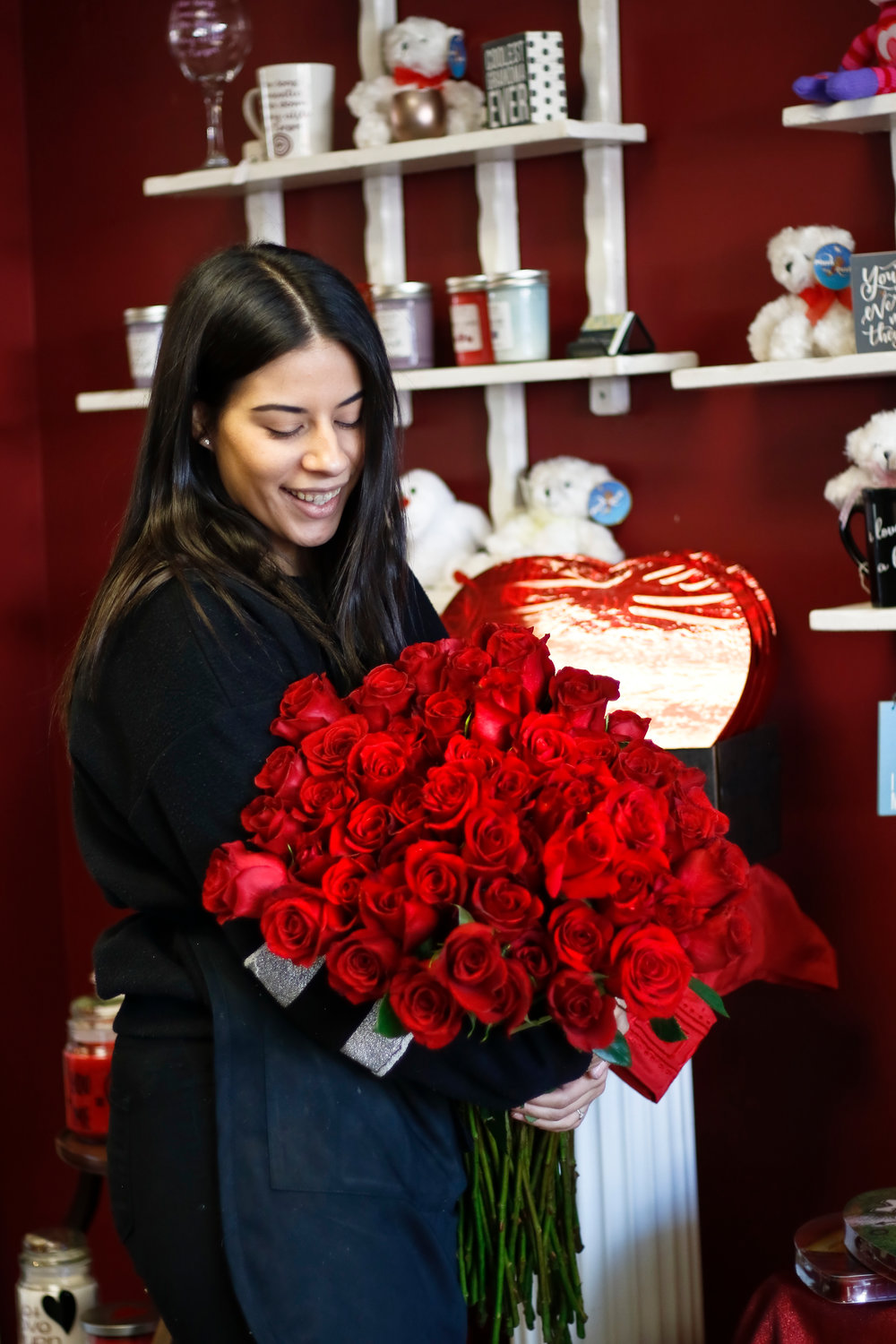 Central Florist's roses are sourced directly from Ecuador.