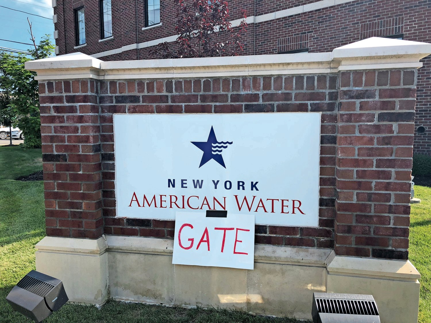 Five Towners are taking issue with Merrick-based New  York American Water.