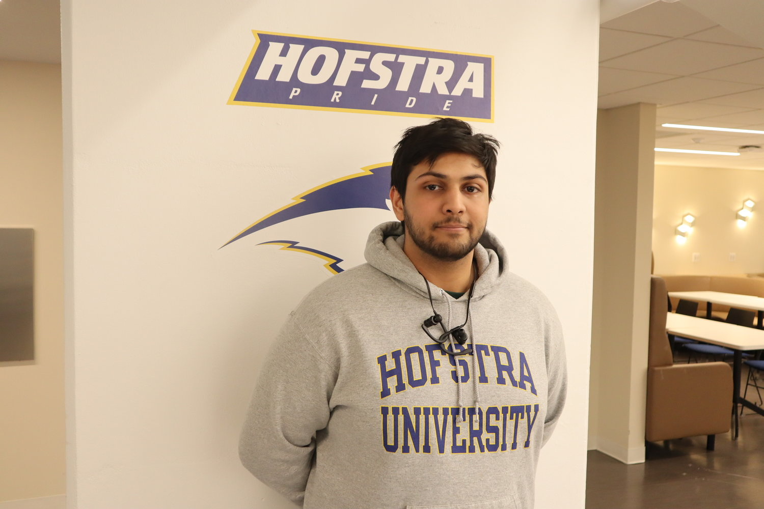 Gurkamal Dadra is the recipient of the Benjamin Gilman International Scholarship and Hofstra's Transformative Learning Grant, both of which will help fund his study abroad.