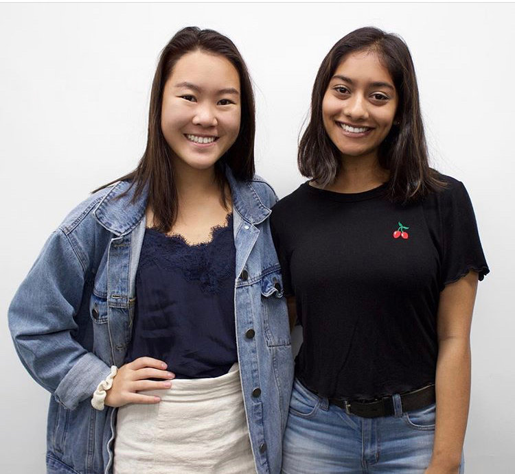 Clara Song and Sabera Hossain, seniors at East Meadow High School, created the Instagram account Humans of East Meadow to showcase their school's diverse student body.