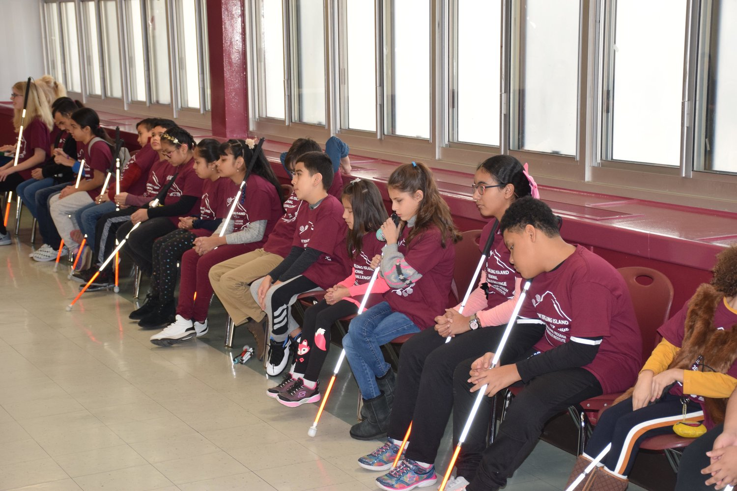Students participated in the 12th annual Long Island Regional Braille Challenge at W.T. Clarke High School on Feb. 2.