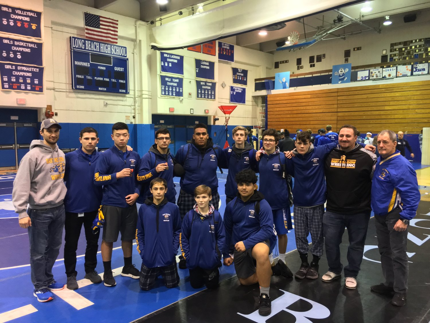 Nine of the athletes on the East Meadow Varsity Jets wrestling team will be representing their community at the 2019 Nassau County Tournament at Long Island University Post this weekend.