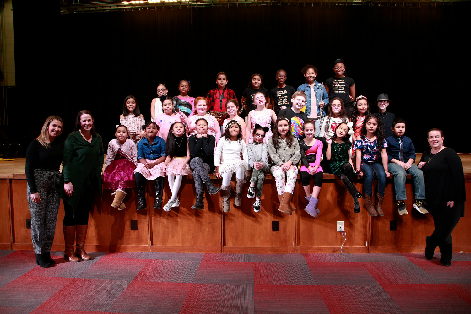 "Lawrence Elementary School held its second annual ""The LES Got Talent"" show in the Lawrence High School auditorium on Feb. 1."