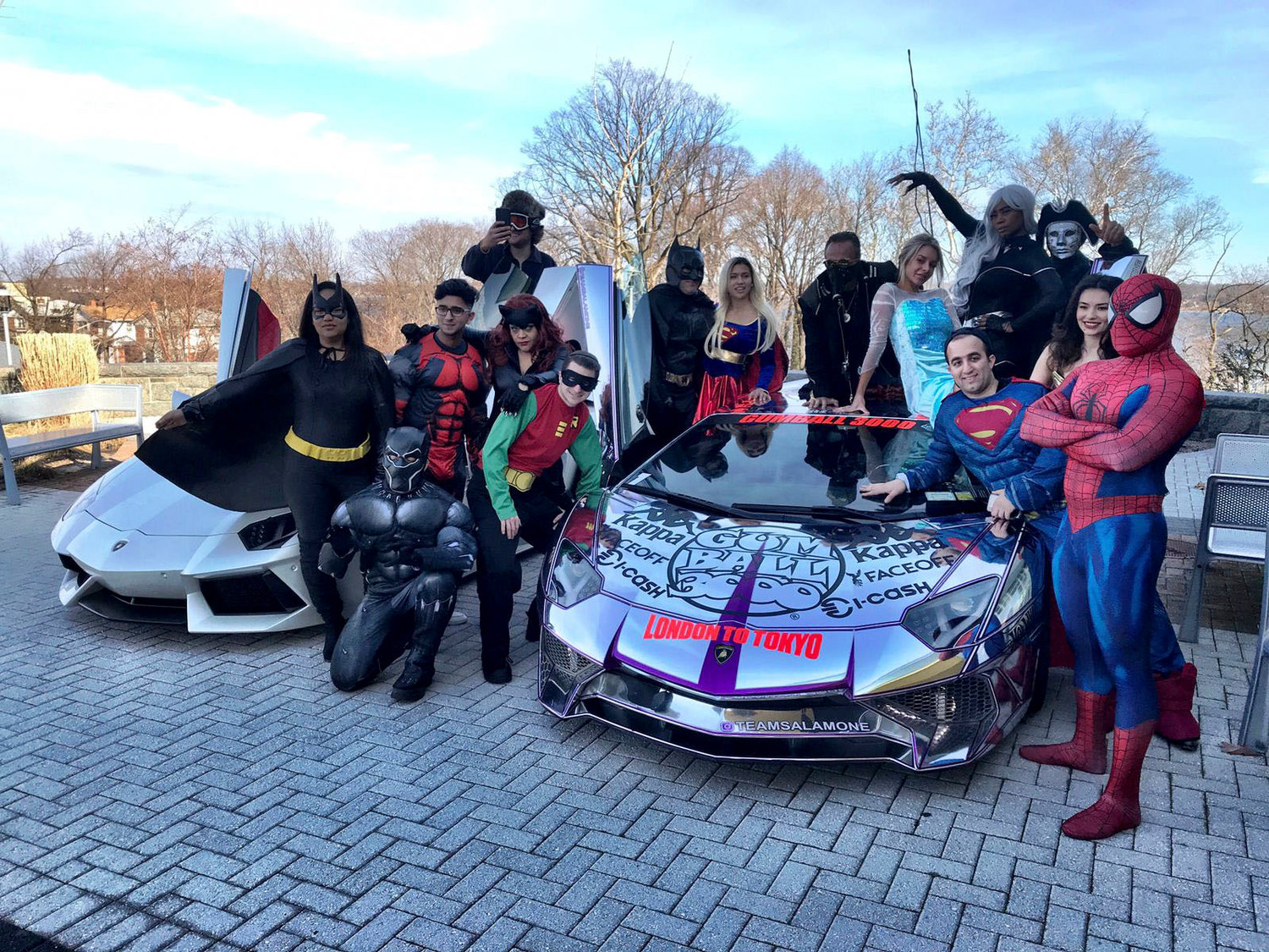 Smiles Through Cars, founded by Lawrence resident Josh Aryeh (Batman), includes volunteers from the Five Towns and other communities who visit ill children.