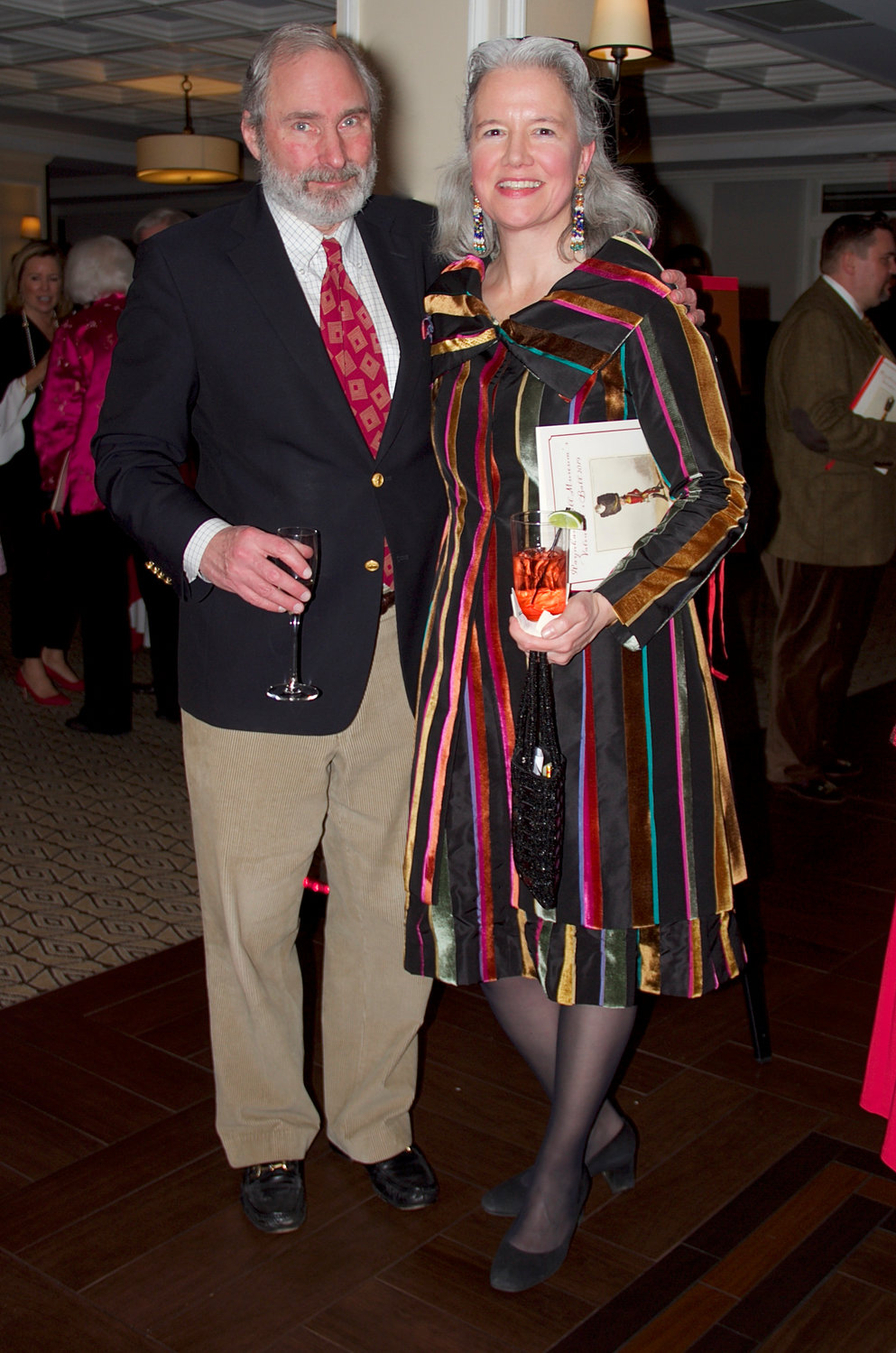 The museum's executive director, Harriet Gerard Clark, with her husband, Henry.