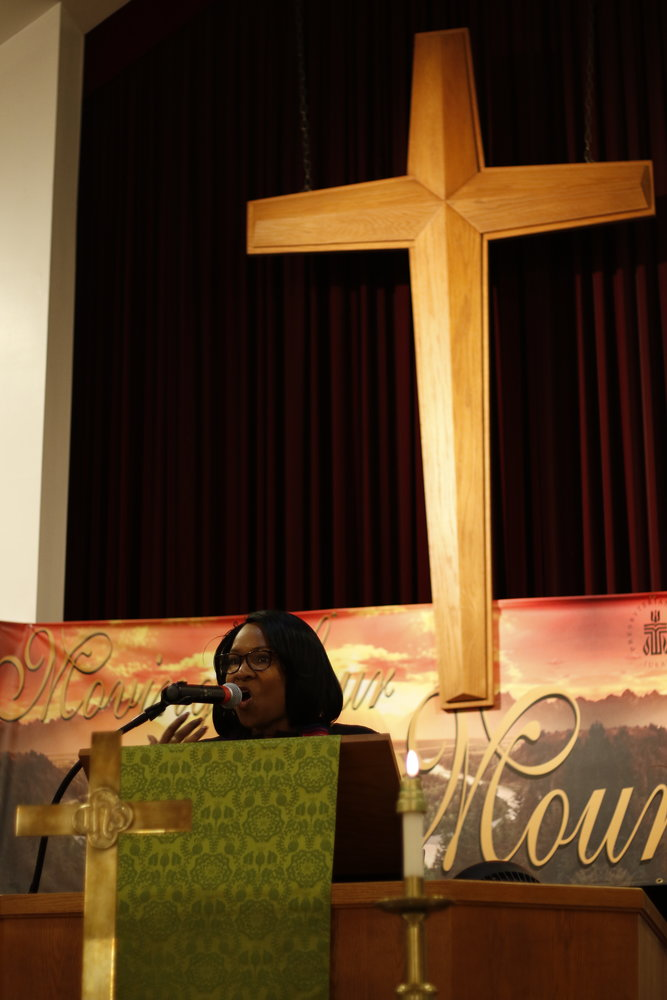 Clemons-Jones became the first black woman to be named the moderator for the Long Island Presbytery.