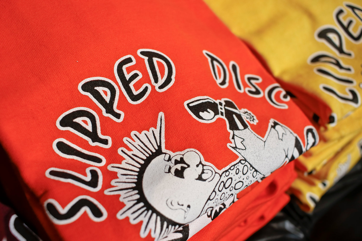 Schutzman said he's kept the Slipped Disc brand alive by selling merchandise online and by organizing pop-up record shops.